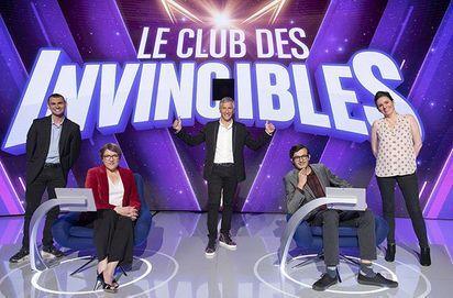 REPLAY - Le Club des invincibles (France 2) Qui a remporté le nouveau jeu de Nagui ?