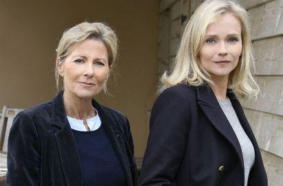 Le Mort de la plage (France 3) : Claire Chazal comédienne face à Claire Borotra et Michel Jonasz