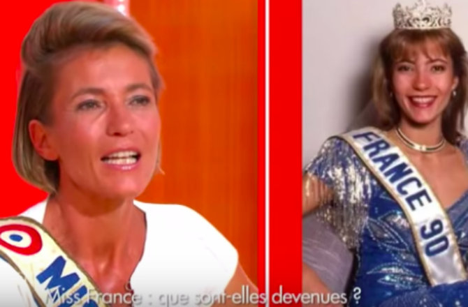 miss france 1990 gaelle voiry
