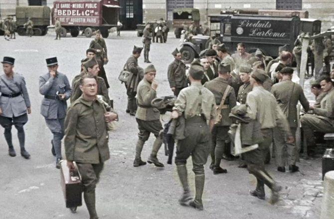 """Il y a 80 ans, la""""Drôle de guerre"""" ; lundi 2 septembre et mardi 3. 1939-la-France-entre-en-guerre-France-3-Avant-les-combats"""