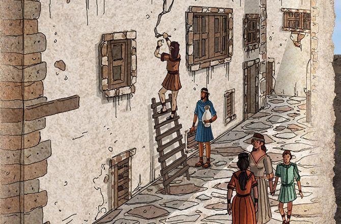 Akrotiri, les derniers jours d'une cité antique (France 5) : L'Atlantide retrouvée ?