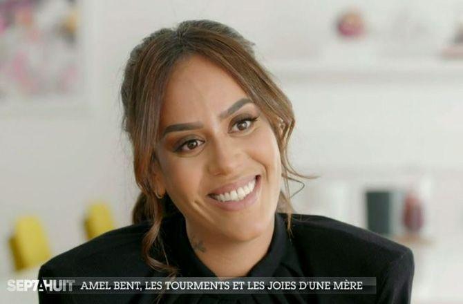 Amel Bent est enceinte de son troisième enfant et se confie avec émotion !