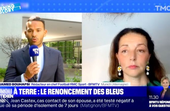 BFMTV : la sénatrice Valérie Boyer remise à sa place après avoir attaqué les Bleus (VIDEO)