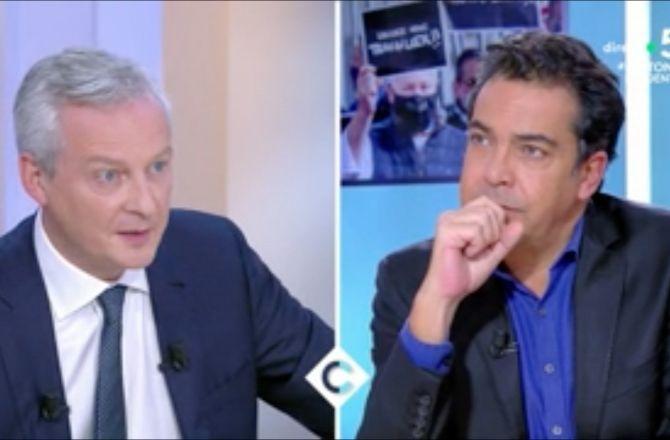 """Bruno Le Maire évoque l'angoisse des restaurateurs : """"Je sais que certains auront du mal à survivre"""" (VIDEO)"""