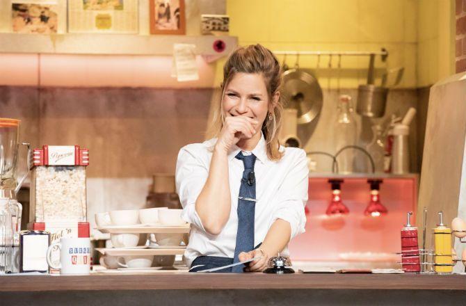 Burger Quiz (TMC) : pourquoi Marina Foïs était-elle absente de la dernière ?