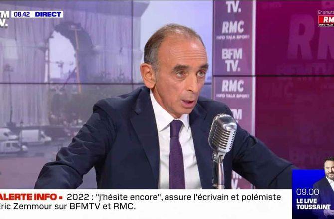 """Chez Jean-Jacques Bourdin, Eric Zemmour """"ne pense pas qu'on ait bien fait d'abolir la peine de mort"""" (VIDEO)"""