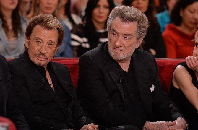 """Des margoulins"" : Eddy Mitchell tacle sans retenue l'entourage de Johnny Hallyday"