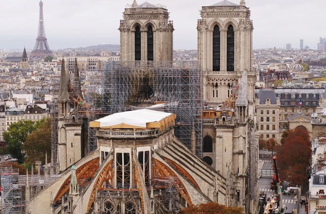 Des racines & des ailes (France 3) Notre-Dame : dans les coulisses du chantier du siècle