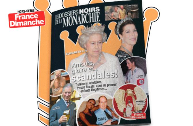 France Dimanche dévoile les secrets de la monarchie