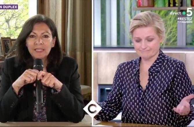 Horaires de jogging : l'argumentaire maladroit d'Anne Hidalgo, confrontée par Anne-Elisabeth Lemoine (VIDEO)