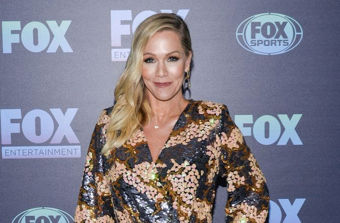 Jennie Garth : Son émouvant clin d'oeil à Luke Perry