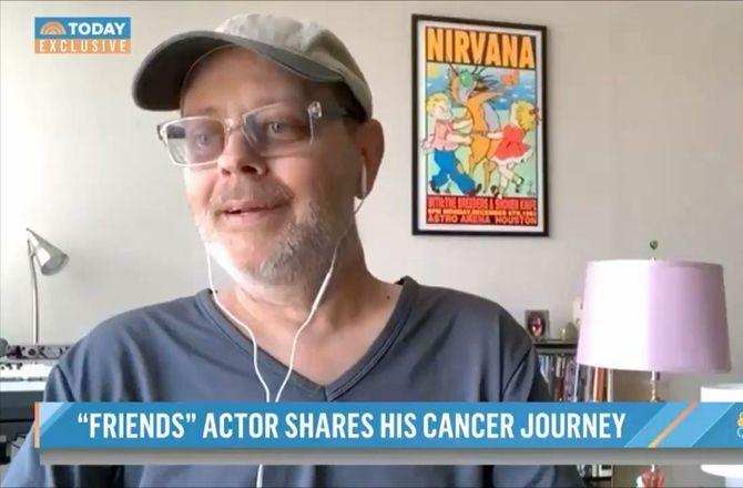 """L'interprète de Gunther dans """"Friends"""" atteint d'un cancer de stade 4 : """"Je suis paralysé"""" (VIDEO)"""