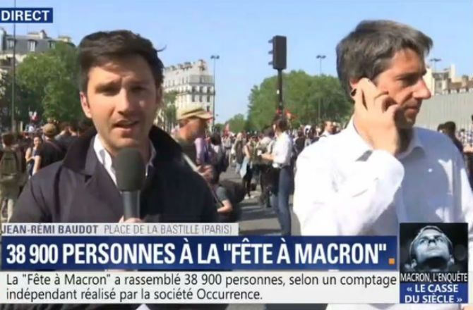Video En Plein Direct François Ruffin Met Un Vent à Un