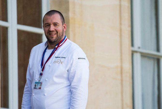 Le chef Guillaume Gomez quitte les cuisines de l'Elysée