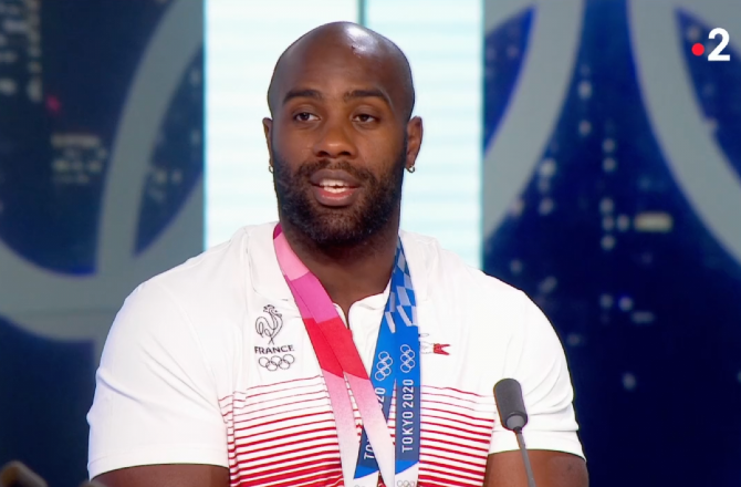 """Médaillé de bronze aux JO de Tokyo, Teddy Riner recadre ses détracteurs : """"Fais-le toi"""""""
