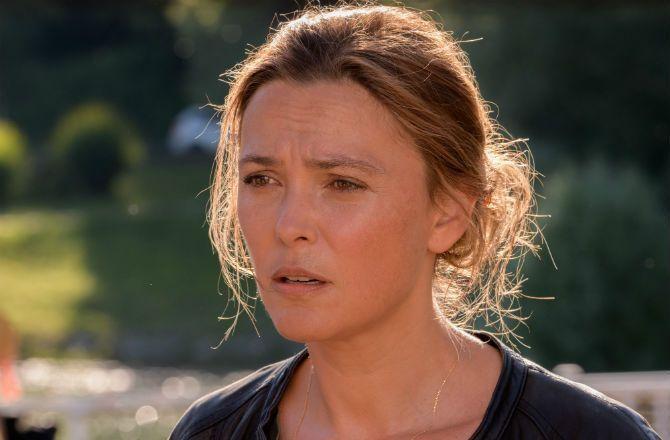"""Meurtres dans le Jura (France 3) Sandrine Quétier : """"Je ne suis pas une petite chose, on peut tout me demander !"""""""