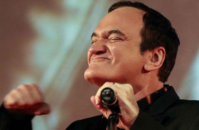 Quentin Tarantino, 56 ans, va bientôt être papa pour la première fois !