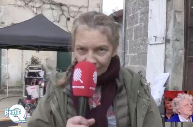 """Quotidien (TMC) - Corinne Masiero tacle Emmanuel Macron : """"Si c'est un pote à toi, tu peux t'en aller !"""""""