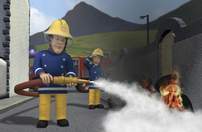 Sam le pompier le dessin anim cr e une grosse pol mique - Dessin anime sam sam ...