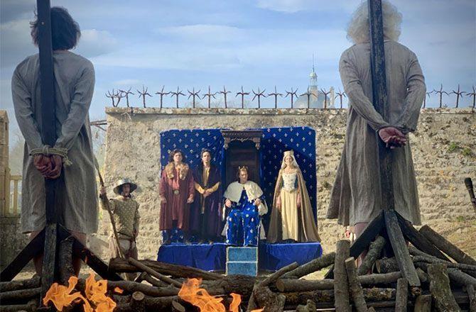 Secrets d'histoire (France 3) Star Wars, Game of thrones... Les héritiers des Templiers