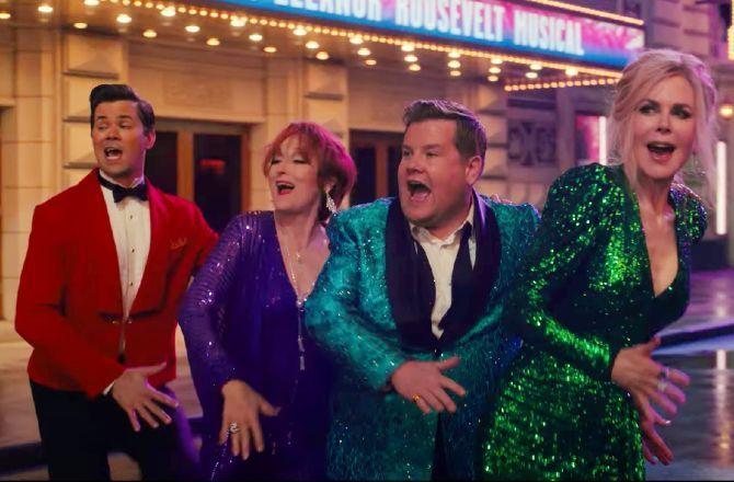 The Prom (Netflix) : le trailer spectaculaire de la comédie musicale de  Ryan Murphy avec Nicole Kidman et Meryl Streep (VIDEO)
