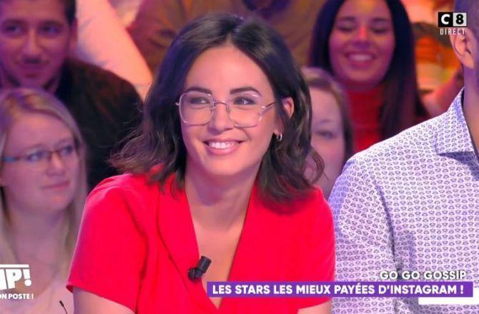 TPMP : Agathe Auproux révèle gagner jusqu'à 6 000 euros par post Instagram (VIDEO)
