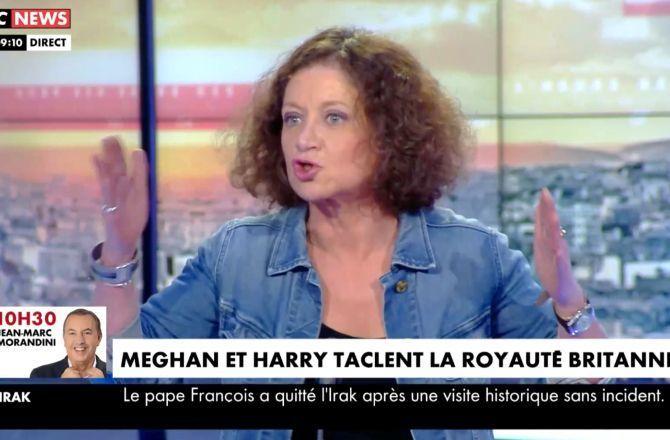 """Vexée que Pascal Praud trouve ses propos """"pas très intéressants"""", Elisabeth Lévy menace de quitter le plateau : """"J'en ai ras le bol !"""" - Télé 7 Jours"""