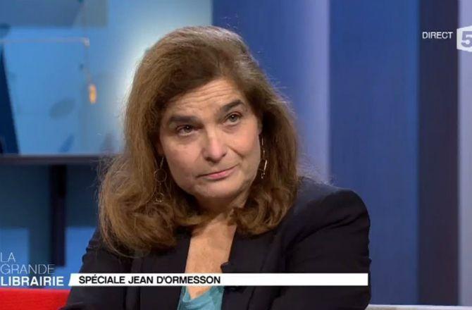 VIDEO - La grande librairie (France 5)  La fille de Jean d Ormesson ... abf43491a29f