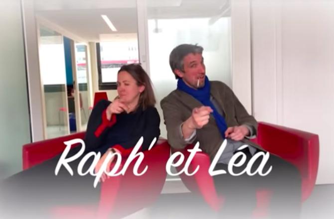 Raphaël Glucksmann News: Léa Salamé Et Raphaël Glucksmann Parodiés Par