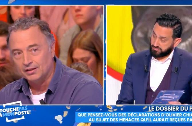 the latest 16bd5 ff454 VIDEO - TPMP (C8) - Olivier Chiabodo :