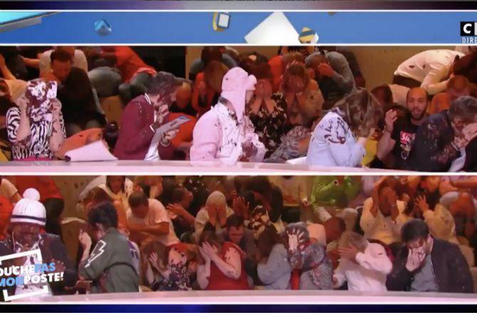 VIDEO - TPMP (C8) : une spectatrice chute et disparaît derrière le décor !