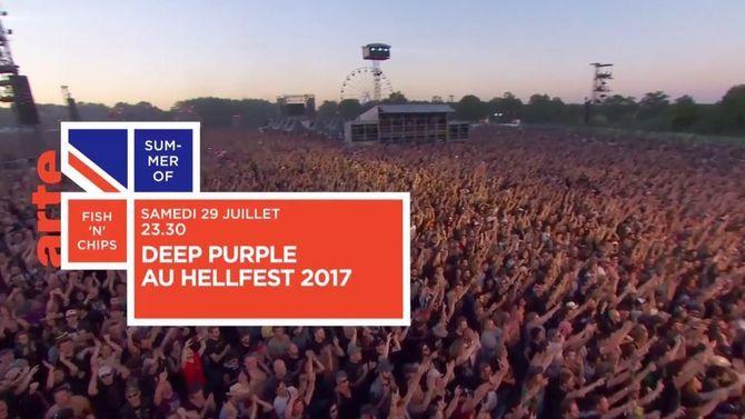 Bande Annonce Deep Purple Au Hellfest 2017 29 07 17 Arte