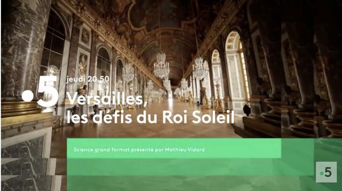 Bande-annonce > Versailles, les défis du Roi Soleil (France 5) bande-annonce - Télé 7 Jours