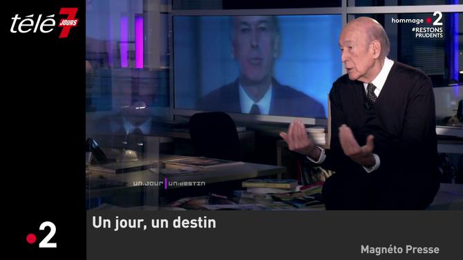 """Bande-annonce > Zapping du 04/11 : """"Au revoir"""" : Quand Valéry Giscard d'Estaing revenait sur sa séquence culte - Télé 7 Jours"""