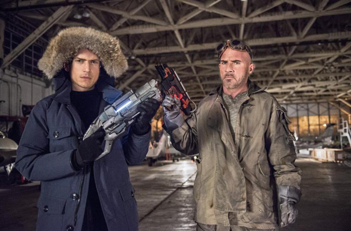 Flash (TF1) - Wentworth Miller et Dominic Purcell : de Prison Break à Flash