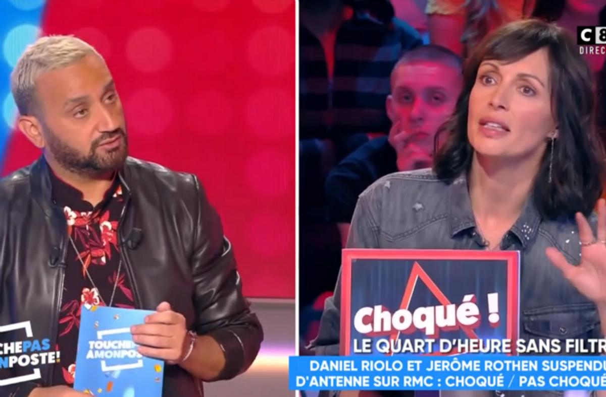 Video Tpmp Geraldine Maillet Defend Son Compagnon Daniel Riolo Ce N Est Pas Illegal De Se Moquer Du Physique D Une Femme